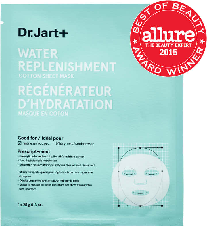 WATER REPLENISHMENT COTTON SHEET MASK, by Dr.Jart+