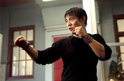 Jet Li in Kiss of the Dragon
