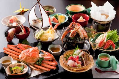 Kani Ryouri (crab dishes)