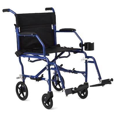 Medline Deluxe Ultra-Lightweight Transport Chair