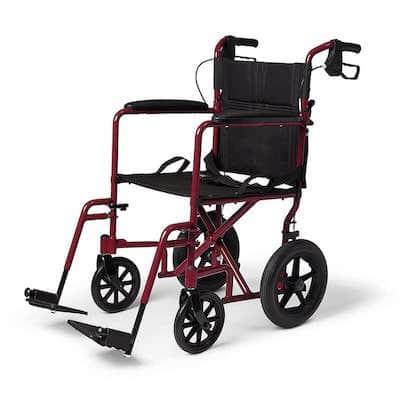 Medline Transport Wheelchair with Brakes